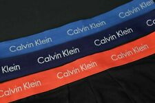 Calvin Klein Para Hombre de Diseñador Ropa interior-Boxer Shorts X 3 nuevos y en caja Talla S M L XL Negro