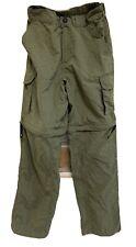 Magellan Fish Gear Cargo Convertible Zip Off Pants Youth Large 14-16 Nice!