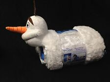 "Disney Frozen OLAF Roll Up Slumber Set & Pillow Wrap ""Coolest Friend Ever"""