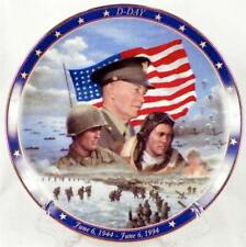 D Day June 6 1944 Collector Plate Bradford Exchange WWII A Remembrance