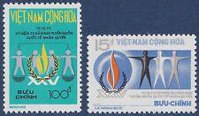 VIETNAM du SUD N°464/465** Droits de l'homme, 1974 South Viet Nam Sc#462-463 MNH