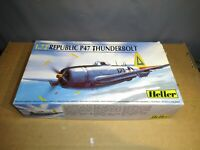 (108) 1/72 Heller Republic P47 Thunderbolt unbuilt kit