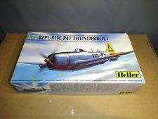 (108) 1/72 Heller Republic P47 Thunderbolt unbuilt kit