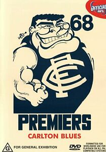 BRAND NEW AFL Premiers 1968 - Carlton Blues DVD Grand Final VFL