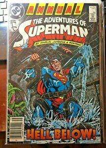 Adventures of Superman Annual #1 Hell Below