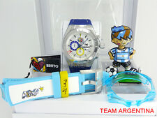 TECHNOMARINE BRITTO AUTHENTIC WORLD CUP SOCCER WATCH BOX SET ARGENTINA 114023G
