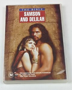 The Bible: Samson And Delilah Parts 1 & 2 - Genuine Region 4 DVD