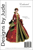 """Enchanted Doll Clothes Sewing Pattern for 16"""" Cami & Antoinette Dolls Tonner"""