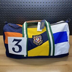 Polo Ralph Lauren Duffle Bag Patchwork Courage Loyalty 1839 Travel Carry On