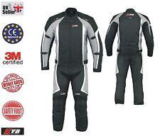2018 Waterproof Motorcycle Jacket Trouser CE Armour 2 piece Biker Motorbike Suit