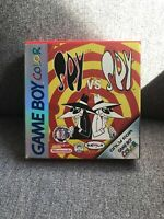 Gameboy Colour Spy Vs Spy Game Nintendo Boxed Complete Manual Included