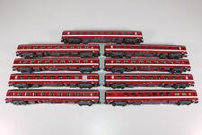 "Roco H0 (AC) 9x Scnellzugwagen ""Le Capitole"" der SNCF (T998)"