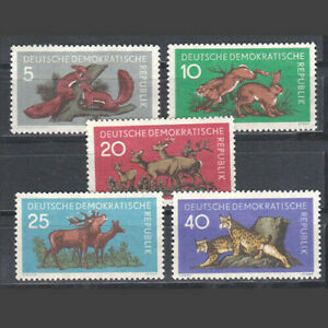 Germany East DDR 1959 complete set animals MNG