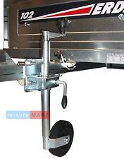 34mm Standard duty Trailer Jockey Wheel & Clamp and FIXING KIT