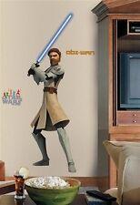 Clone Wars Obi-Wan. Apliques de Pared Pegatina Gigante