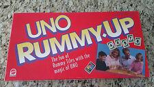 Vintage UNO Romme Up Game #01 - 1993 Mattel - 99/100 Fliesen-super sauber!