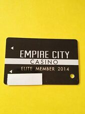Empire City Casino Elite Players Card Yonkers, Ny. 2nd Tier Level 2014 Design