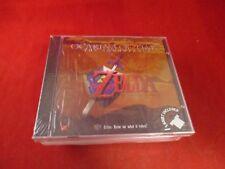 The Legend of Zelda Ocarina of Time Soundtrack CD w/Shirt! Nintendo 64 N64 NEW!