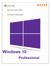 GENUINE WINDOWS 10 PROFESSIONAL PRO KEY 32 / 64BIT ACTIVATION CODE LICENSE KEYHF
