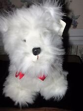 Russ Caress Soft Pets White West Highland Or Scottish Terrier; with tags