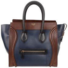 Celine Bag Phantom Medium Tri Colour Navy Brown Black Luggage Tote