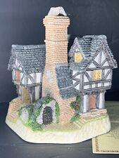 David Winter Cottages ~ Inglenook Cottage ~ Nib Coa Box New Perfect