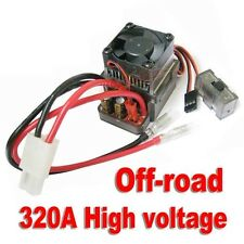 7.2-16V 320A High Voltage Brushed ESC Speed Controller for RC Off-road Car Truck