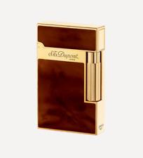 S.T. Dupont Ligne 2 Dark Brown Atelier Lighter, ST016126 (16126), New In Box