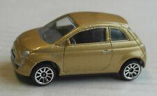 Majorette Fiat 500 goldmetallic PKW Auto Car Kleinwagen Retro gold