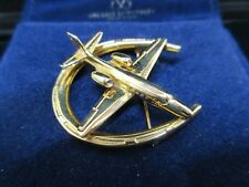 Cessna Airplane by Peacock Jewelry New York NY 16.7grams 14kt Gold Pin
