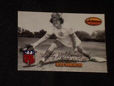 ALICE LEFTY HOHLMEYER 1993 TED WILLIAMS CARD CO. SIGNED AUTOGRAPHED CARD #116