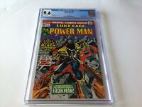 POWER MAN 17 CGC 9.6 WHITE PAGES LUKE CAGE HERO FOR HIRE IRON MAN MARVEL COMICS