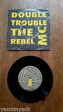 "Double Trouble & The Rebel MC Just Keep Rockin' (Desire, WANT 9) 7"" SINGLE 1989"