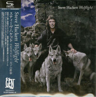 STEVE HACKETT-WOLFLIGHT-JAPAN MINI LP SHM-CD BONUS TRACK Ltd/Ed F83