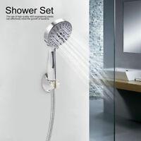 3Pcs/Set Bathroom Shower Set Rainfall Hand Held Shower Head Hose Bracket Kits