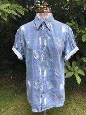 Stylish Vintage Men's 'Lee Cooper' Shirt Denim Patch pocket Design