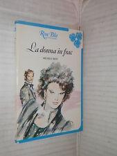 LA DONNA IN FRAC Michela Resti Fabbri 1985 Collana Rose Blu 10 romanzo libro di