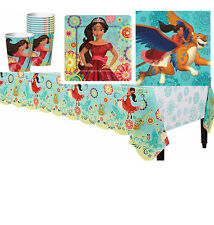 33pc Elena of Avalor Girls Birthday Party Pack ~Cups,Plates,Napkins & TableCover