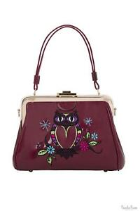 Voodoo Vixen Persimmon Womens Handbag Bags Ladies Vintage Style Clutches