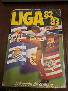 EDICIONES ESTE 82 83 ALBUN ALBUM MUY COMPLETO LIGA FÚTBOL 1982