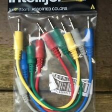 Intellijel Eurorack Patch Cables (15cm) - Paquete de 5