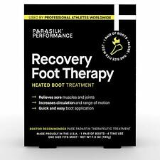 Parasilk Performance Recovery Foot Therapy Heated Boot Treatment 1 Pair 7 oz