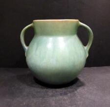 """Roseville Earlam. Grreen And Tan Vase - 517-5 1/2"""" - MINT"""
