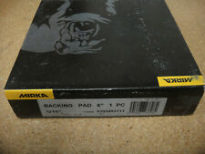"New  Mirka  6"" backing pad 5/16"" model"