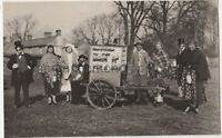 Collecting For Bedford Hospital, Burn It For A Bob RP Postcard B771