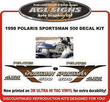 1998 POLARIS  Sportsman 500  4X4 Decal kit   Reproductions
