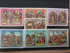PARAGUAY 1970 Easter  7 stamp set MNH