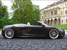 1:18 Tuning Audi R8 Spyder V10 Teakbraun + BBS Echtalu-Felgen = EXTREM RAR = OVP