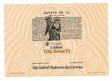 Brazil Scott 1308, MNH, St. Gabriel and the Proclamation of Pope Paul VI