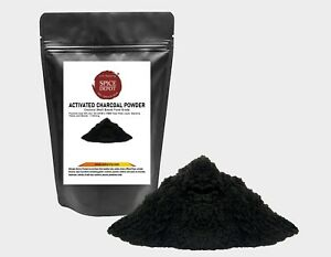 Activated Charcoal Powder Coconut Shell Based Food Grade | Dietary & Teeth white